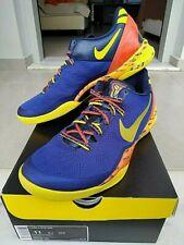 Nike Kobe VIII 8 System Barcelona 555035 402 Blue Yellow Orange 11US / 45EU Rare