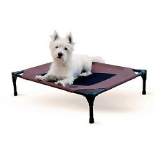 KH Mfg Pet Dog Cat Cot Indoor Outdoor Elevated Raised Waterproof Bed Medium