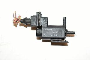 03 04 BMW X5 E53 EGR Vacuum Control Solenoid Electronic Valve 1742712