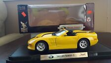 1999 Shelby Series 1 Road Signature 1:18 Yellow