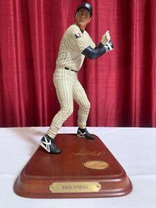 ny yankees Paul O'Neill *(missing bat) Danbury Mint Figurine