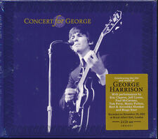Concert For George 2-disc CD NEW Live Royal Albert Hall Eric Clapton Tom Petty
