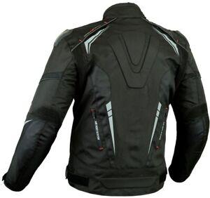 PROVIZ MENS EXTRA PROTECTION CE ARMOUR MOTORBIKE / MOTORCYCLE TEXTILE JACKET