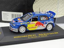 Ixo 1/43 - Skoda Fabia WRC Nº11 Rallye Montar Carlo 2006