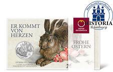 Österreich 5 Euro Silber 2016 Hgh Albrecht Dürrer: Der Feldhase als Silbermünze