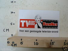 STICKER,DECAL TV GIDS FILMNET TELEVISIE AVOND MARYLIN MONROE ? LARGE