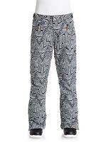 ROXY Women's NADIA Printed Snow Pants - WBS6 - Medium - NWT