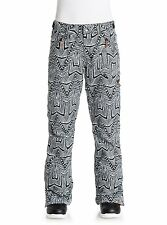 ROXY Women's NADIA Printed Snow Pants - WBS6 - Small - NWT