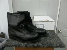 ADDISON MEN BOOT BLACK SAFETY SHOE STEELTOE SIZE 14 XW WIDE ADULT WORK BIKER NEW