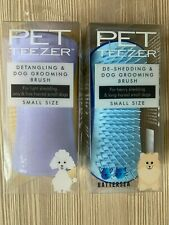 Pet Teezer Detangling & Dog Grooming  Brush - Mini Two Colours