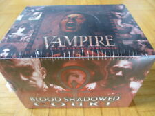 NEW SEALED Display VTES Blood Shadowed Court Vampire Eternal Struggle Camarilla