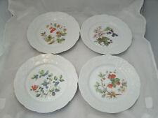 Dansk IVY 4-8\  Accent Fruit Salad Dessert Plates Embossed Rim Lierre Sauvauge 2 & Vintage Original Ivy Dansk China \u0026 Dinnerware | eBay