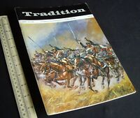 "Vintage 1970s ""Tradition"" #61 Superb Model Soldier & Military History Magazine"