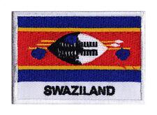 Ecusson patche patch à coudre drapeau pays monde SWAZILAND 70 x 45 mm