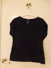 *JEANSWEST* Size S Gorgeous Black Beaded Top