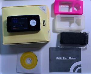 iRiver X20 8GB MP3 WMA OGG Player, FM Radio & Recorder, Built In Mic Recorder