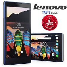 "Unlocked LENOVO Tab TB3-850M Black 8"" IPS LCD 4G LTE Android Mobile Phone Tablet"