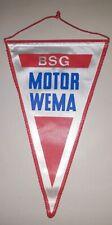 Schöner Wimpel BSG Motor Wema Plauen DFV DDR LIGA Fussball DTSB VFC Plauen Sport