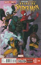 AVENGING SPIDER-MAN & THE X-MEN #16 (2013) PACO MEDINA MARVEL COMIC V/F+