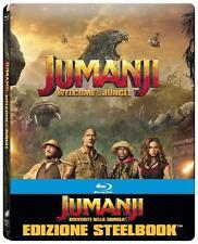 JUMANJI WELCOME TO THE JUNGLE. - Blu-Ray Steelbook -