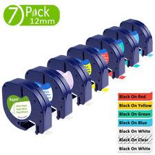7pcs 16952 91330 91332 91334 91335 Tape Compatible Dymo Letratag Lt Label Maker