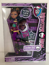 MONSTER HIGH Clawdeen Wolf With Diary School's Out NEW