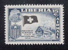 Liberia # C116 MNH 1958 Flag Issue With BLACK Flag ERROR