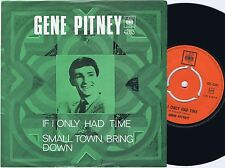 GENE PITNEY If I Only Had Time Norwegian 45PS 1969 Green Sleeve
