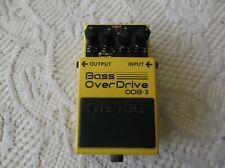 BOSS bass overdrive overdrive pedal