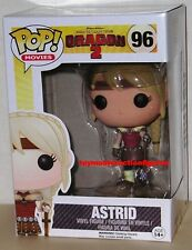 FUNKO POP MOVIES HOW TO TRAIN YOUR DRAGON 2 ASTRID #96 Vinyl Figure IN STOCK
