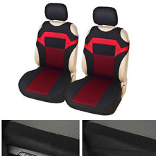 2pcs Universal fabric Car Seat Protection Covers 2-Front Cushion Four Seasons
