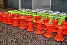 Neon Orange Powder Coating Paint - NEW 1LB