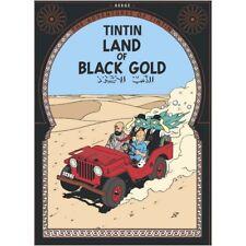Postal del álbum de Tintín: Land of Black Gold 34083 (10x15cm)