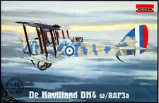 Airco DE Haviland DH-4 con motore 3 A RAF (Tribunale & RFC MARCATURE) 1/48 Roden