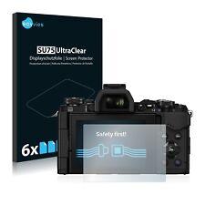 6x Film Protection écran pour Olympus OM-D E-M5 Mark II Protecteur