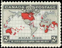 1898 Mint NH Canada F+ Scott #85i 2c Imperial Penny Stamp