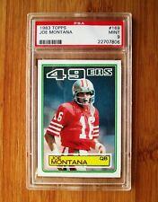 1983 Topps #169 Joe Montana PSA 9 MINT