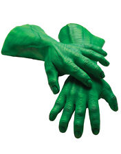 Hulk Latex Mains, Homme Marvel Comics Costume Accessoire