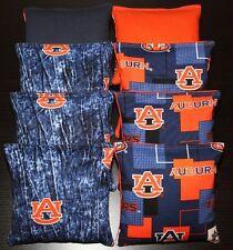 Auburn University Tigers Cornhole Bean Bags 8 Aca Regulation Bags Top Quality!