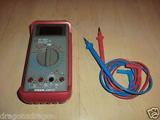 ISO-TECH IDM91E Digitalmultimeter Multimeter, sofort einsatzbereit, 1J.Garantie