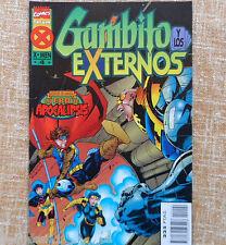 Comic, Gambito y los Externos, nº 4, Marvel, Comics Forum, Fabian Nicieza, 1996