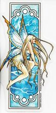 WINTER Fairy Art Nouveau Sticker Car Decal Selina Fenech faery faerie