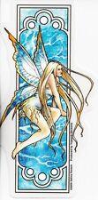 WINTER Fairy Art Nouveau Sticker Car Decal Selina Fenech faery faerie