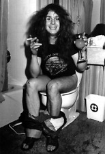 Ozzy Osbourne Sitting in the Toilet Bowl  Poster  13x19 inches
