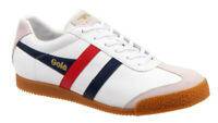 Scarpe Sneakers shoes GOLA Harrier Leather uomo man casual stringati laced-up pe