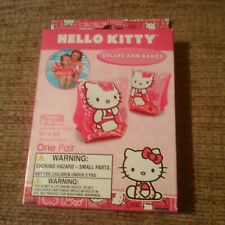 New Intex Hello Kitty Kids Swimming Arm Band Floats Swim Floaties