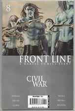 Civil War : Front Line #8, Marvel comic book from November 2006