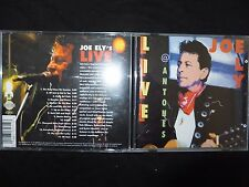 CD JOE ELY / LIVE A ANTONE'S /