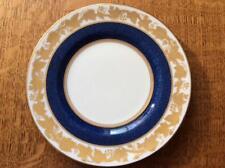 """Wedgwood Cobalt Whitehall bone china 6"""" bread plate green mark W3993"""