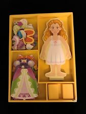 Melissa & Doug Pre-owned Princess Elise Magnetic Dress Up Doll